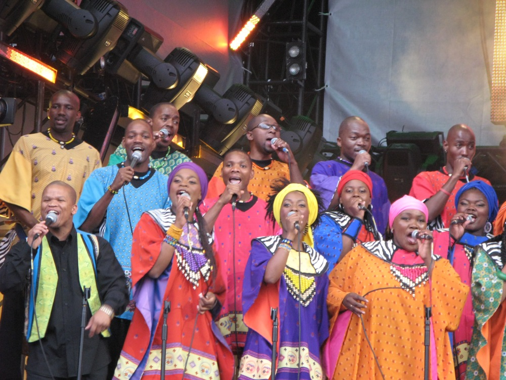 Soweto Gospel Choir. Photo credit: Paul Williams.