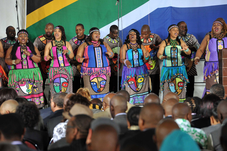 Soweto Gospel Choir. Photo Credit: GovernmentZA