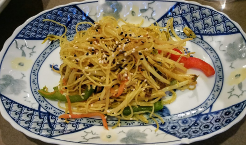 dry chow mein