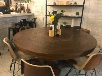A nice comfy table