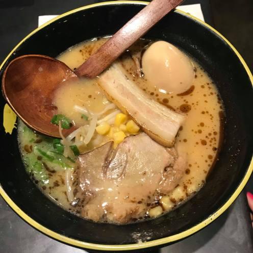 Miso pork ramen