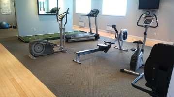 A full gym!