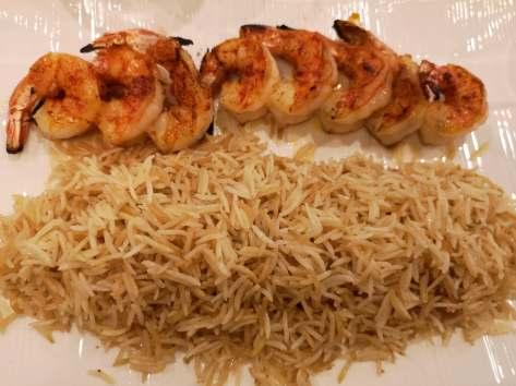 Shrimp kabab