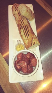 Chorizo and baguette