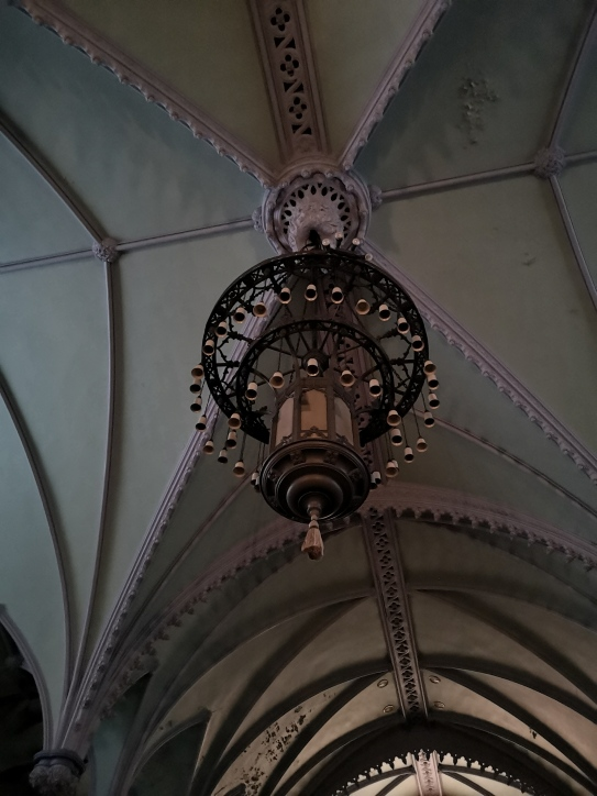 A big chandelier!