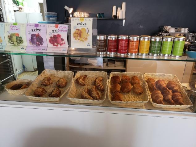 The full assortment of more regular pastries