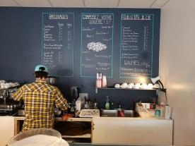 The menu - all enticing