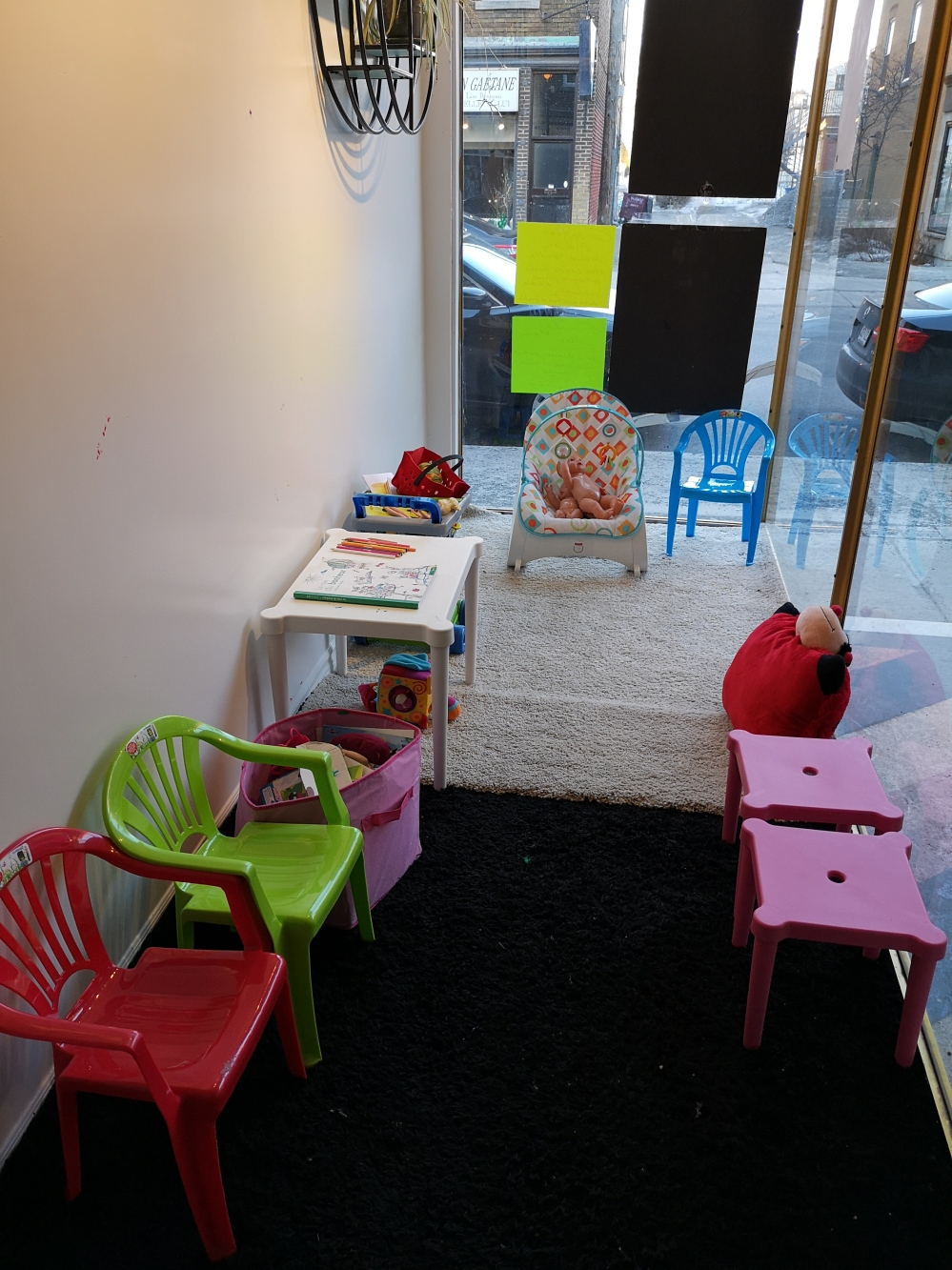 An entire kids' corner